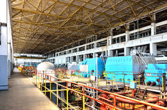 Termiczna elektrownia -9 Zdjęcie Royalty Free