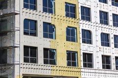 termiczna ochrona budynek fasada fotografia royalty free