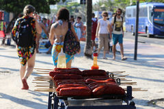 Termiczni furora zasięg 44 5 stopni Celsius w Rio De Janeiro Fotografia Stock