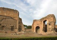Termiczni skąpania caracalla, Rzym Włochy Fotografia Stock