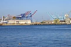 Terminais Califórnia do sul de San Pedro. imagens de stock royalty free