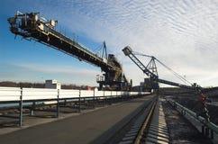 Terminal 1 de charbon Image libre de droits
