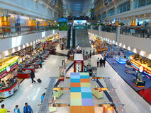Terminal 1 van de Luchthaven van Doubai Internationale Royalty-vrije Stock Fotografie