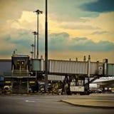 Terminal Photographie stock libre de droits