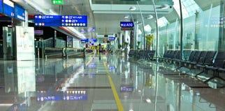 Terminal 3 d'aéroport de Dubaï Photographie stock libre de droits