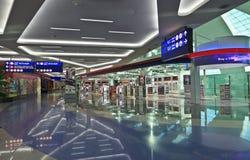 Terminal 3 d'aéroport de Dubaï Image libre de droits