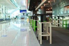 Terminal 3 d'aéroport de Dubaï Images stock