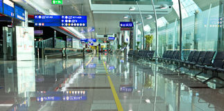 Terminal 3 of Dubai airport Royalty Free Stock Photography