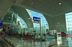 Terminal 3 of Dubai airport Royalty Free Stock Photos