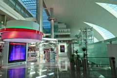 Terminal 3 of Dubai airport Stock Photo