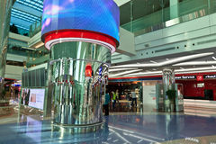 Terminal 3 of Dubai airport Royalty Free Stock Photo