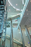 Terminal 3 of Dubai airport Stock Images