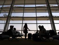 Terminal 3 van de luchthaven Stock Fotografie