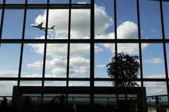 Terminal 5 imagem de stock