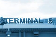 Terminal 5 Images stock