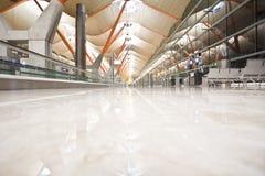 terminal abandonné par aéroport Image libre de droits