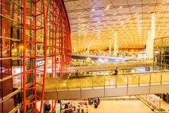 Terminal 3 av Pekingden huvudinternationella flygplatsen Royaltyfri Bild