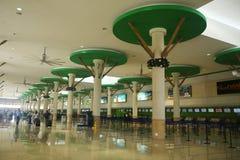 Terminal B dans l'aéroport international de Punta Cana Image libre de droits