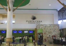 Terminal B in Punta Cana International Airport Stock Photos