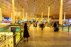 Terminal 3 of Beijing Capital International Airport Royalty Free Stock Photography