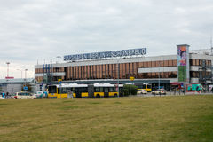 Terminal A building of Schoenefeld airport at day time Stock Image