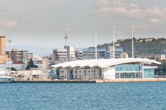 Terminal Cagliari de la travesía Foto de archivo