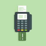 Terminal card Royalty Free Stock Images