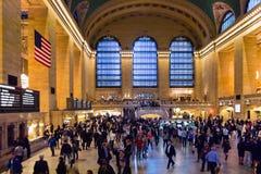 Terminal central grande Imagem de Stock Royalty Free