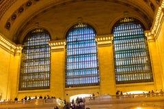 Terminal central grande Imagens de Stock Royalty Free
