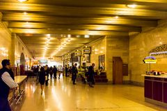 Terminal central grande Fotografia de Stock Royalty Free