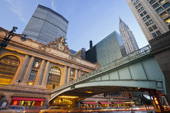 Terminal central grande Imagem de Stock