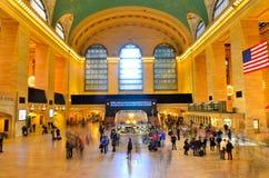 Terminal central magnífica Imágenes de archivo libres de regalías