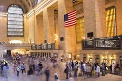 Terminal central magnífica en New York City imagen de archivo libre de regalías
