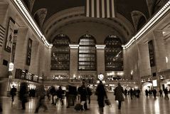 Terminal central magnífica I Foto de archivo