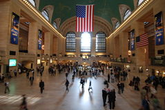 Terminal central magnífico Imagen de archivo libre de regalías