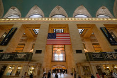 Terminal central magnífico, New York City Imagen de archivo