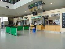 Terminal chez Dublin Port photographie stock libre de droits