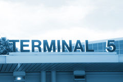 Terminal 5 Stock Images