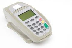 Terminal cinzento do cartão de crédito de Brown Imagem de Stock Royalty Free