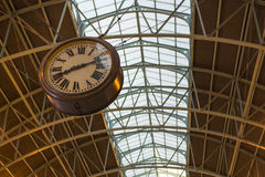 Terminal Clock at Central Station, Sydney Australi Stock Images