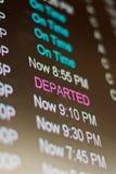 Terminal d'aéroport Photo stock