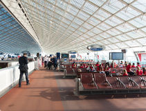 Terminal d'aéroport Image stock