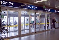 Terminal d'aéroport Photos stock