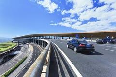 Terminal d'aéroport capital de Pékin 3 Photographie stock