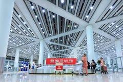 Terminal d'aéroport capital de Pékin de retrait des bagages 3 photographie stock