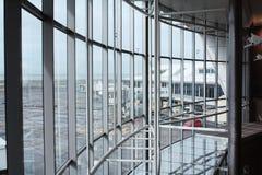Terminal d'aéroport d'Auckland Photo libre de droits