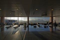 Terminal d'aéroport d'Ibiza Photos libres de droits