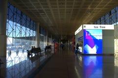 Terminal d'aéroport de Barcelone Images stock