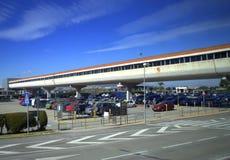 Terminal d'aéroport de Barcelone Images libres de droits