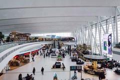 Terminal d'aéroport de Budapest Photographie stock